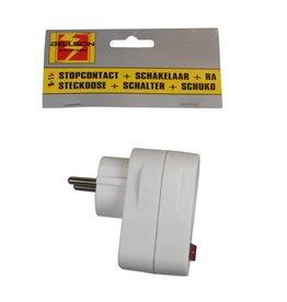 Stopcontact RA + Schakelaar