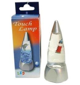 Touch Liquid Lamp led met Texel vuurtoren