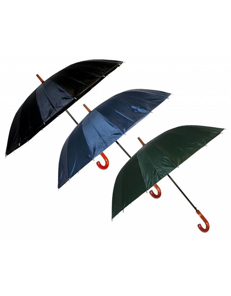 Paraplu mix 120cm 16 banen 3 Assorti Kleur