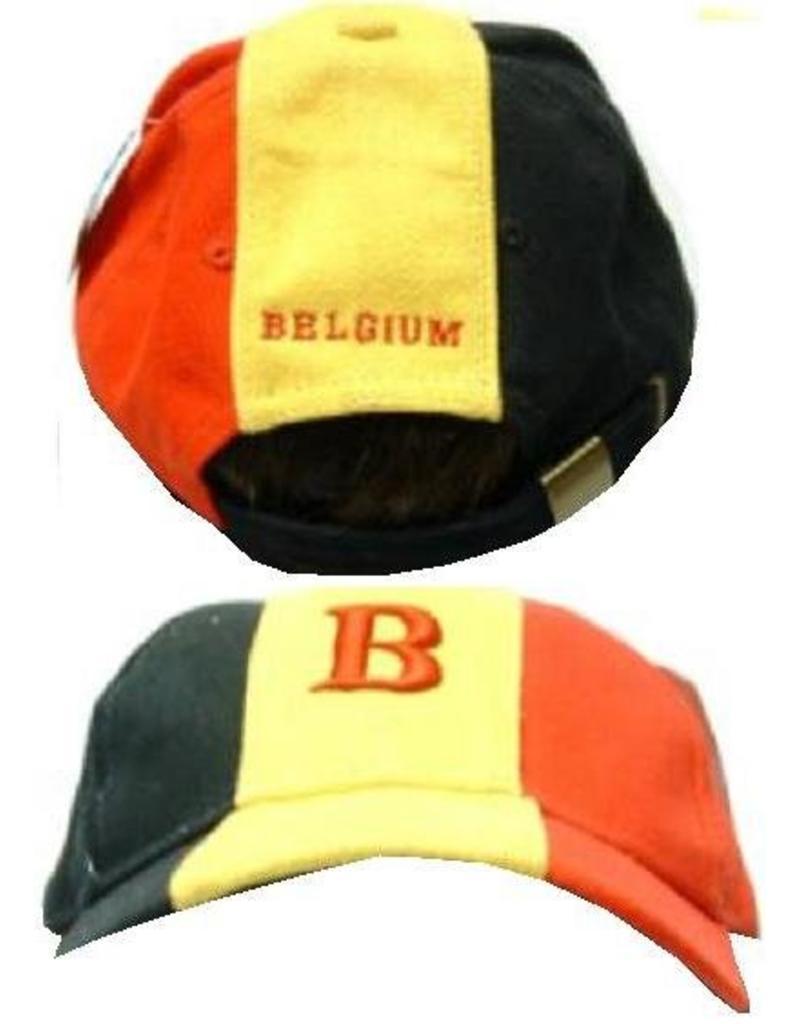 Cap met Belgie logo