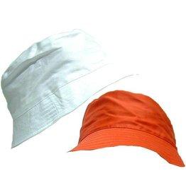 Hoed 2 assorti kleur rood en wit