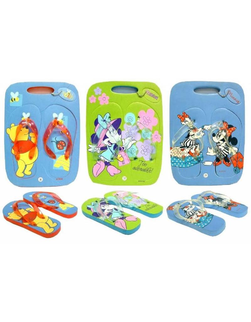 KinderDisney slippers mt 28/32 per 36 in doos