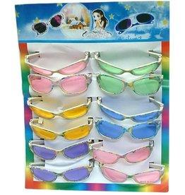 Kinderbril kaart a 12 stuks