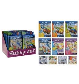 Creative Hobbyset per 12 in display