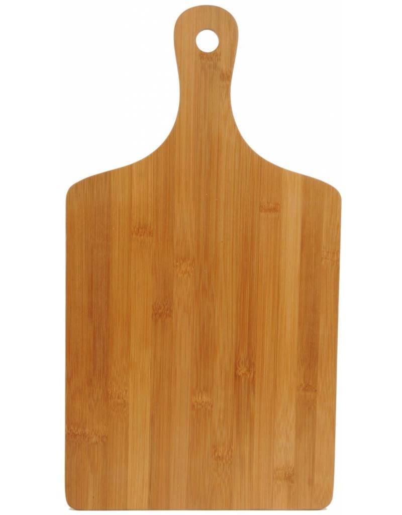 Snijplank met handvat bamboe 35x16x0,8cm.