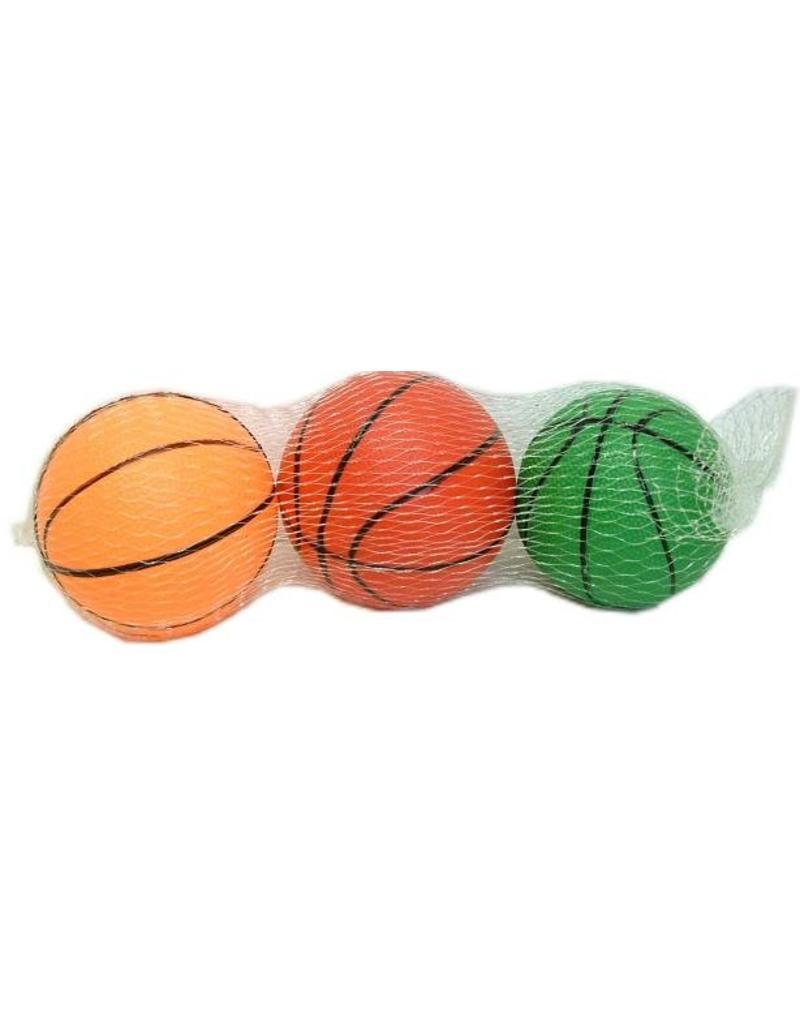 Basket ballen 10cm 3stuks