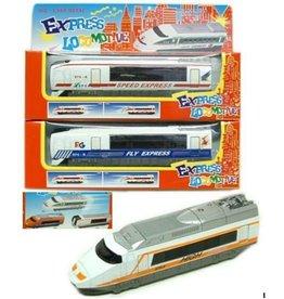 DieCast Express Locomotief assorti in window box à 22,5x7cm.