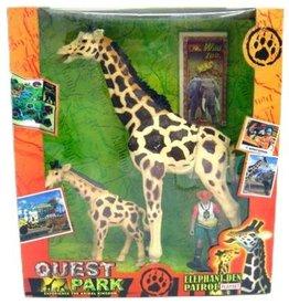 Giraffenset 30x33.5cm