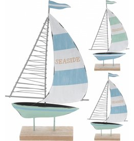 Deco Boot 25cm. 2 assorti kleur