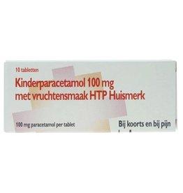 HMK Paracetamol Kind 100mg 10st met vruchtensmaak