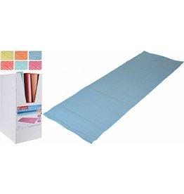 Strandmat Streep Design 180x60cm.  6 assorti kleur