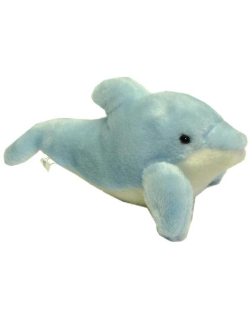Pluche Dolfijn L.blauw L=30cm