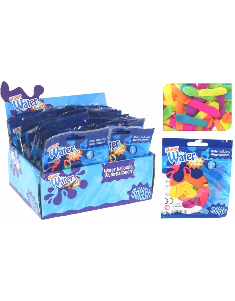 Waterballonnen 25 stuks in zakje