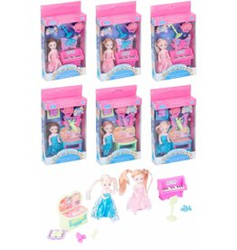Pop Princess 9cm. Fashion Set 4dlg ass. model en kleur