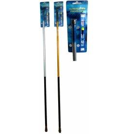 Hengel Thunderstick 3 meter + Tuig. 2 assorti kleur