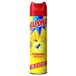 Vapona Kruipende Insecten en Wespenspray 400ml.