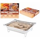 Instant Barbecue 32x25x6cm met 500gr. briketten&aanmaakblok