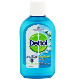 Dettol Disinfectant Liquid Fresh Cotton Breeze 250ml