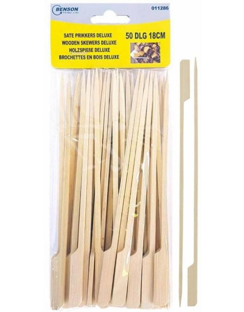 Sate Prikkers Deluxe 18cm. 50 Delig.
