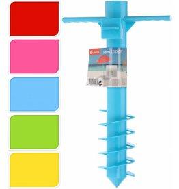 Parasolstandaard PP 40cm. 5 ass. kleur