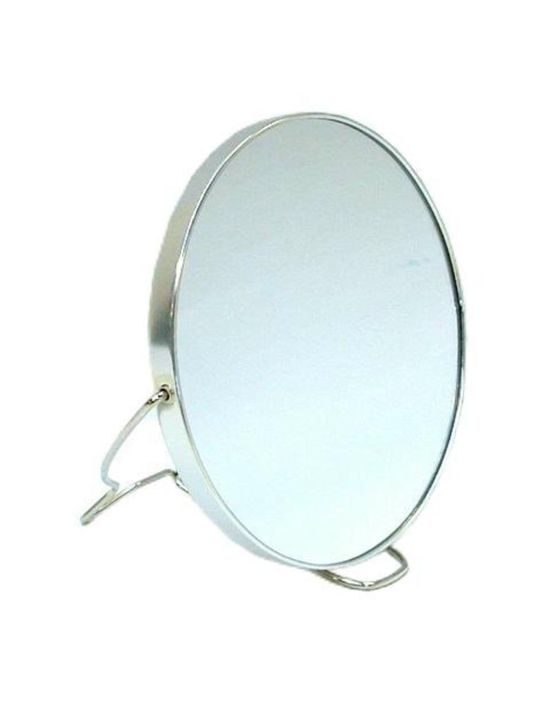 Spiegel Rond 2-zijdig Dia=14,5 cm.