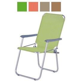 Stoel Picknick Opvouwbaar 53x22x69cm. 4 ass. kleur