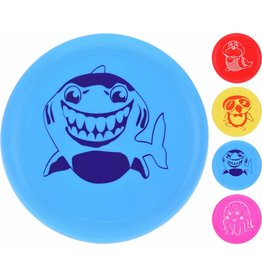 Frisbee 22cm. 4 ass. kleur