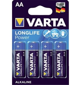 Varta Longlife Power Batterij LR06 4xAA