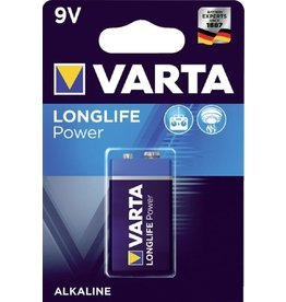 Varta Longlife Power Batterij 9Volt 6LR61
