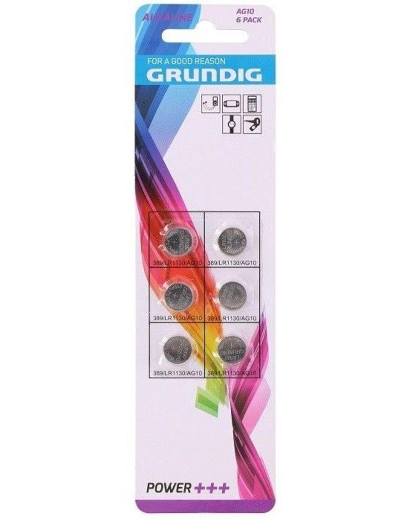 Grundig Knoopcel AG10/LR1130 6dlg