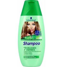 Schwarzkopf Shampoo 7 Kruiden 250ml.