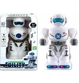 Robot 18cm. met licht en geluid