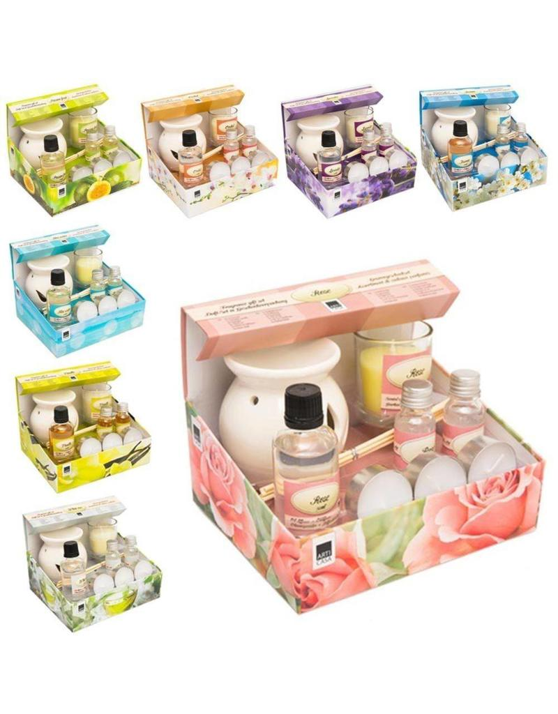 Cadeauset Aroma 13 delig in giftbox 8 assorti geur