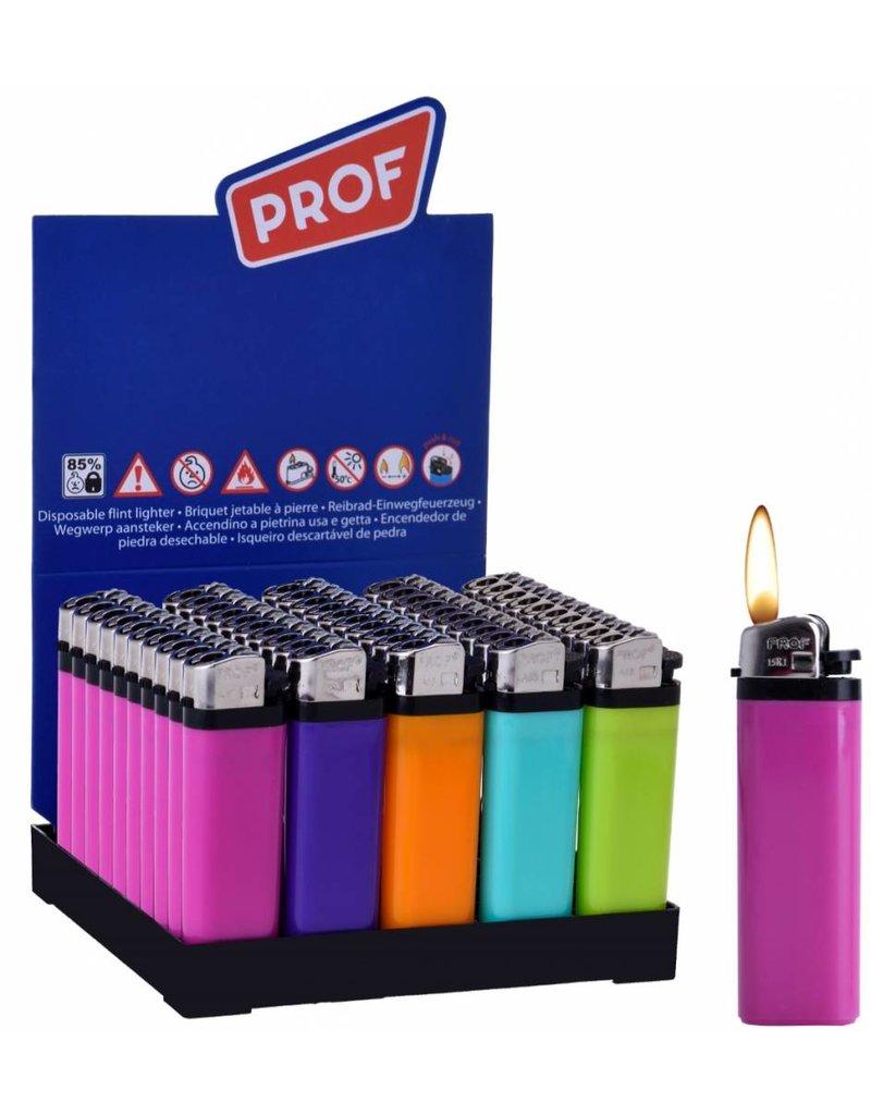 Aansteker Fashion kleuren per 50 op tray