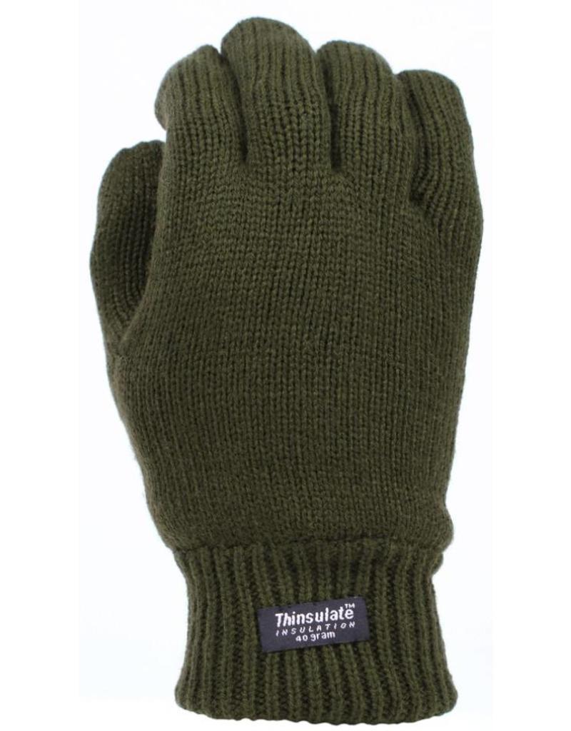 Thinsulate Handschoen Donkergroen Maat M/L