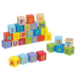 Jouéco Alfabet Blokken 30 Delig 12 maand+