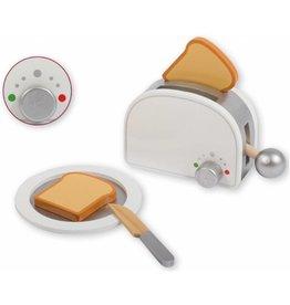 Jouéco Houten Toaster 20cm. 3 jaar+