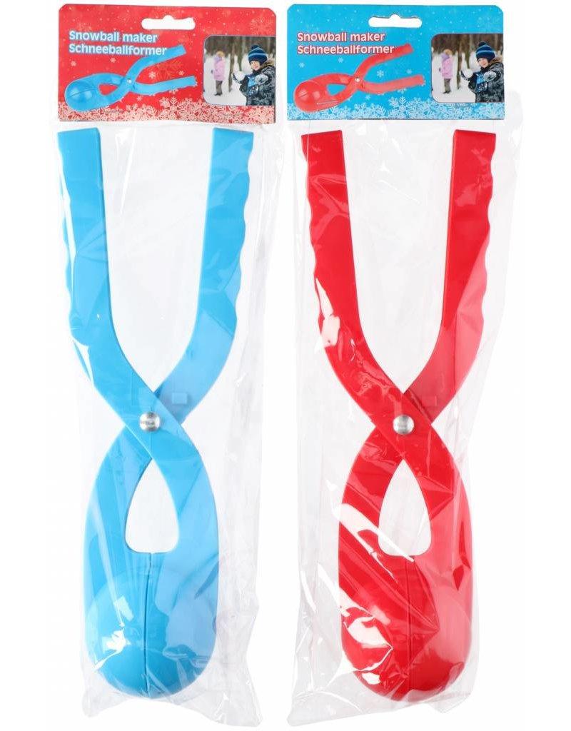 Sneeuwbalmaker 33,5x8x11,5cm. 2 assortie kleur
