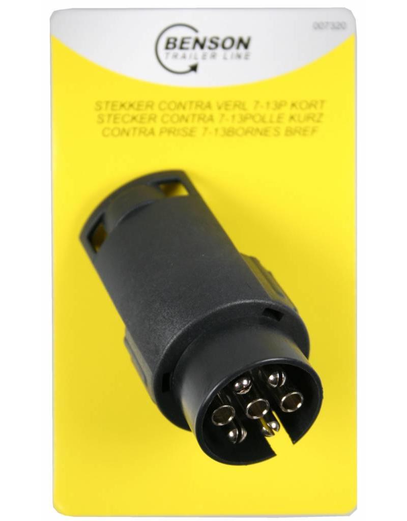 Aanhangwagen Verlichting Verloop Stekker 7 > 13 polig kort