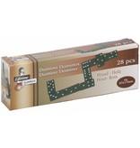 Lifetime Games Houten Dominospel 28 Stenen 35mm Zwart