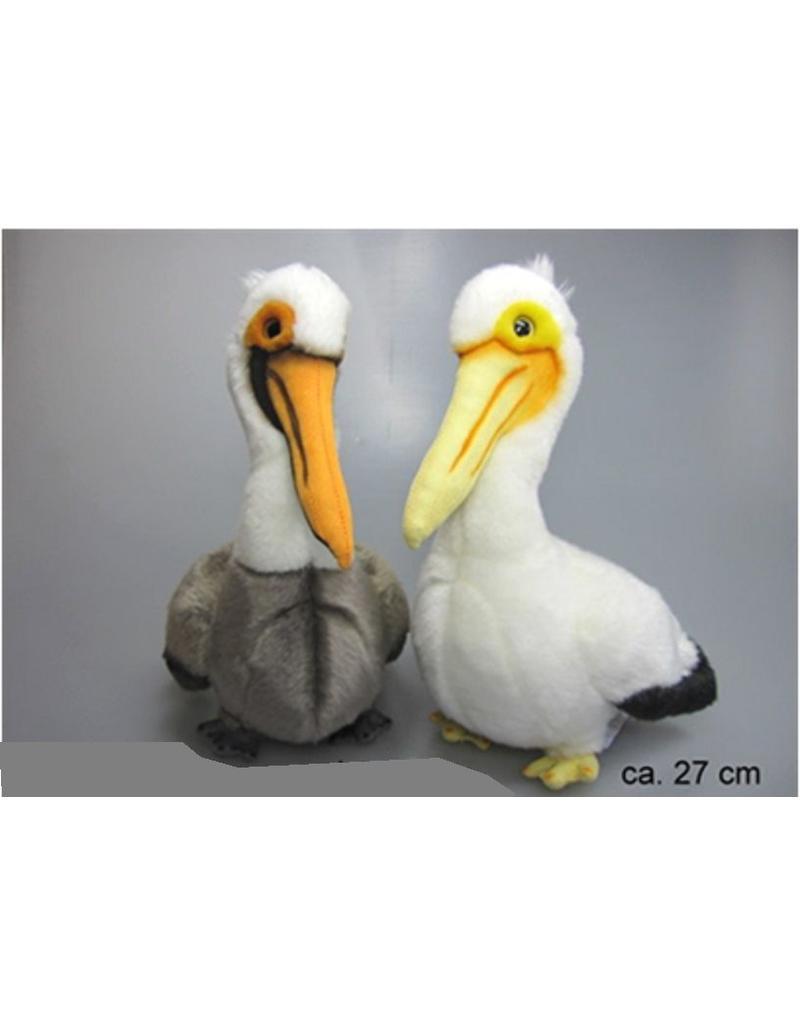 Pluche Pelikanen 27 cm 2 assorti