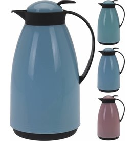 Koffiekan 1 liter 3 assortie kleur