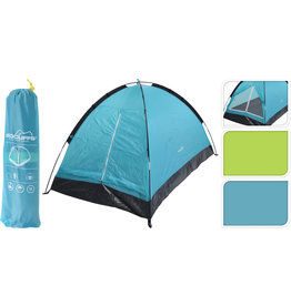 Tent Monodome 200x120x100cm. 2 persoons 2 assorti kleur