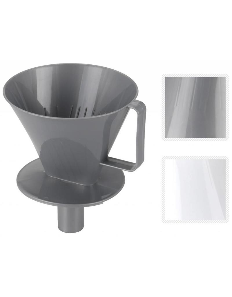 Koffiefilter houder pp dia 135mm 2 assorti kleur