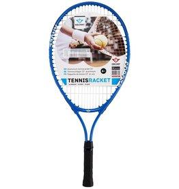 Tennisracket Aluminium 57,5cm. Blauw