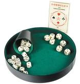 Poker/Dobbelpiste 26cm. Kunstleder