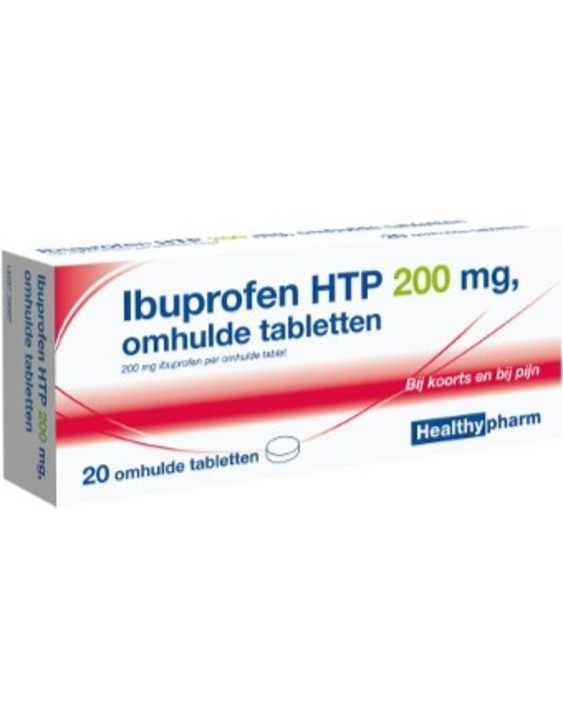 Healthy Ibuprofen 200mg 10st.