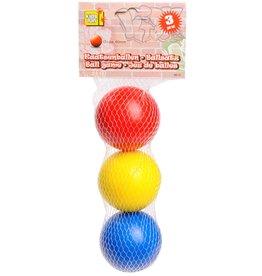 Kaatsenballen 6cm. 3 stuks in net