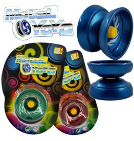 Yoyo Metaal 5cm. 4 assorti kleur
