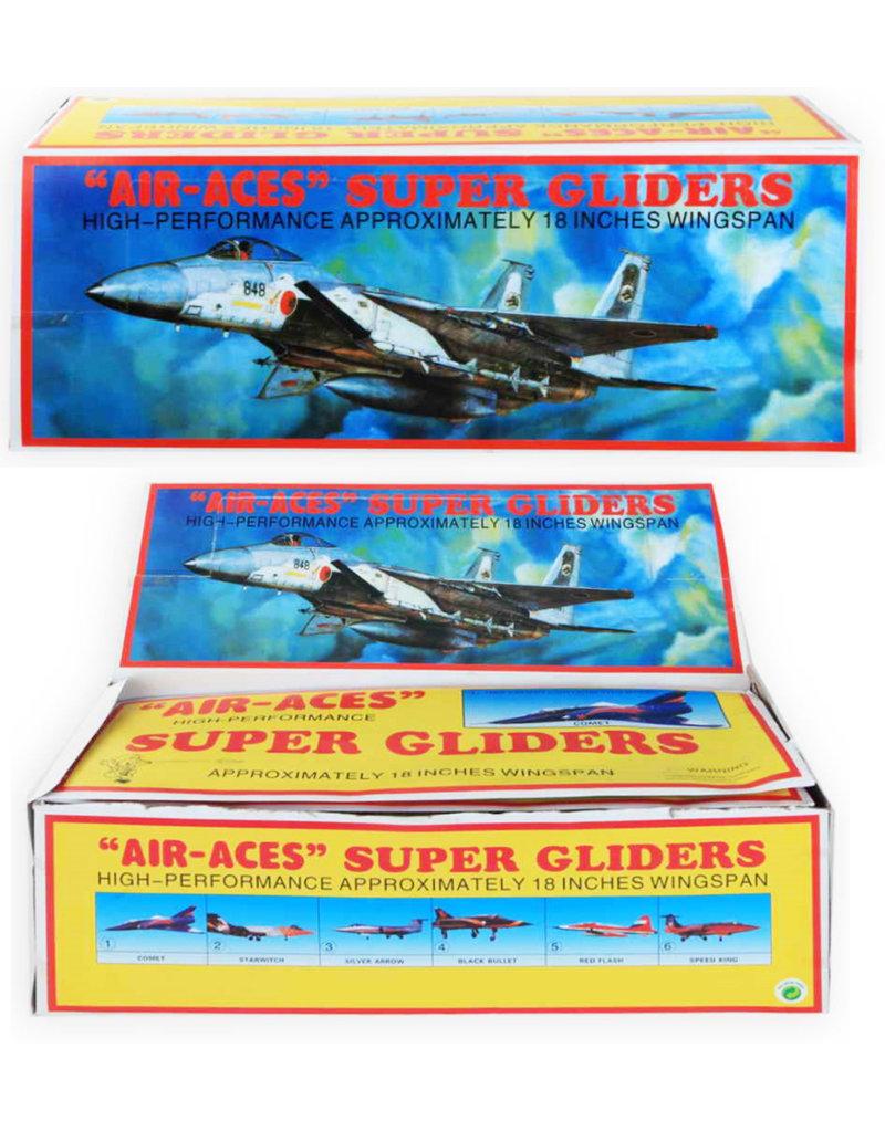 Air-Aces Super Glider 45cm. 6 assorti model